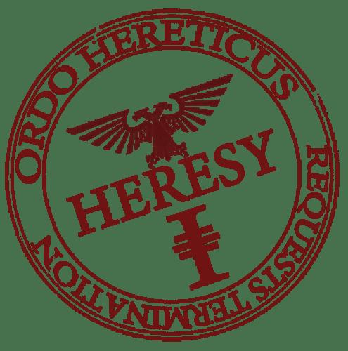 heresy stamp