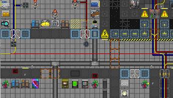 port primary hallway-vault-tool storage